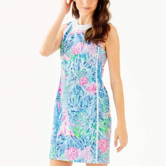 Lilly Pulitzer Dresses & Skirts - Lilly Pulitzer Mila Stretch Dress Sink or Swim